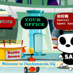 pandamanda a fictional online virtual language learning world